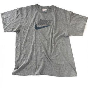 Distressed Graphic Tee Shirt Nike